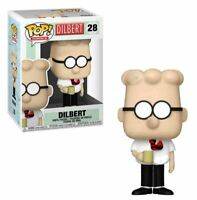 IN STOCK Funko Pop! Comics #28 Dilbert Collectible Vinyl Figure NEW IN BOX
