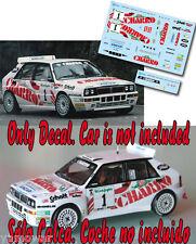 Decal 1:43 Gustavo Trelles - LANCIA DELTA - Rally El Corte Ingles 1993
