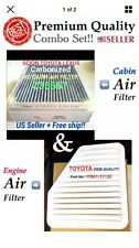 Engine&Carbonized Cabin Air Filter For CAMRY Rav4 Vibe ES350 xB tC OEM Quality