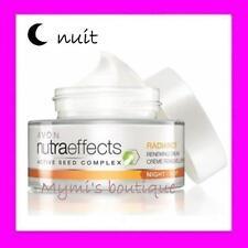Crème de nuit régénérante et illuminante AVON NUTRA EFFECTS Radiance