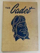 1943 BRUCE FIELD, U. S. ARMY FLIGHT SCHOOL YEARBOOK, BALLINGER, TX, CLASS 43-K