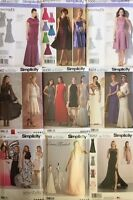 Simplicity Sewing Patterns Dress Wedding/Prom/Occaisions