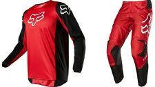 Fox Racing Pant & Jersey Combo Mens 180 Prix Flame Red Motorcycle MX F20MPRIX122