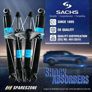Front + Rear Sachs Shocks for Daihatsu Sirion M100 YRV M2 Hatchback Wagon 01-20