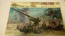 Arii, 1/48, 500-28 Tractor und Long Tom, 155mm Artillery Field Gun - motorisiert