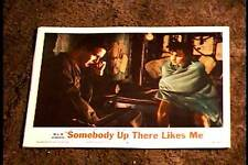 SOMEBODY UP THERE LIKES ME 1956 LOBBY CARD #8 PAUL NEWMAN