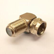 F Typ Rechtwinkel / 90° Adapter / Anschluss Für CCTV Satellit Usw