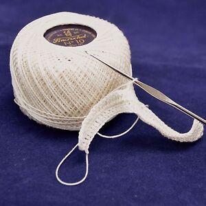 50g Presencia Fincrochet Finca 3 ply Crochet Tatting Lace Cotton Thread Yarn