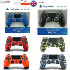 UK PS4 DualShock 4 Controller Black White Red Blue V2 BRAND NEW SEALED OFFICIAL