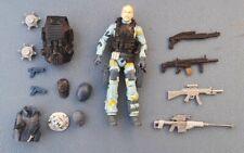 "Gi Joe Custom Fodder SHOCKBLAST / SHOCKWAVE / SWAT LEADER / Figure Loose 3.75"""