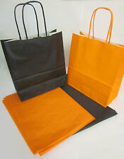 HALLOWEEN PARTY BAGS & x2 TISSUE PAPER / FIREWORKS / GUY FAWKES / BONFIRE NIGHT
