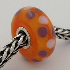 Authentic Trollbeads Ooak Murano Glass Unique Bead #87 Charm, New