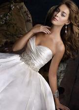 Lazaro Ivory Wedding Dress LZ3111