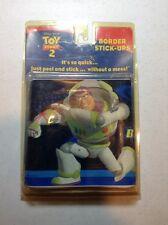 "Disney Pixar Toy Story 2 Buzz Lightyear Self Stick Wall Paper Border 5yd  5""x15'"