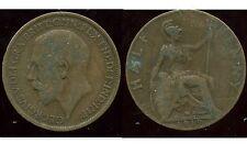 ROYAUME UNI  half  penny 1919  ( bis )