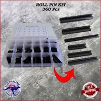 360 Pieces Metric Roll Pin assortment grab kit Australian Stock M2 - M10 sizes