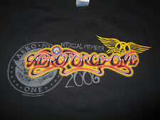 2006 AEROSMITH Aeroforce-One Offical Member (2XL) T-Shirt