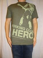 Green Day Working Class Hero Hard Rock London Signature Green T-shirt Size S