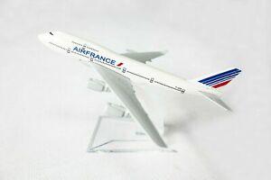 ️ 14cm Air France 747 Airplane New Livery Aeroplane Diecast Metal Plane  Model