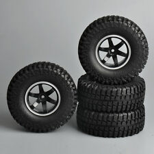 RC 1/10 Scale TRUCK Wheels Tires Set 1.9 ROCK CRAWLER Wheels 100mm W/ Foam 4pcs