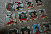 Rare Panini World Cup 1998 (France '98) stickers/cards | Spain pop-up selection