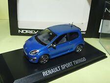 RENAULT TWINGO SPORT RS 2008 Bleu NOREV 1:43