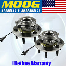 PAIR (2) MOOG Front Wheel Hub & Bearing Assembly Chevy Cadillac SUV Pickups GMC