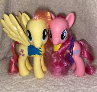 """My Little Pony G4  Target Exclusive 6"""" Wonderbolt FLUTTERSHY & PINKIE PIE 2010"""