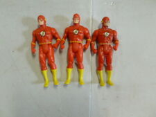 Lot of 3 Super Powers the Flash Action Figures