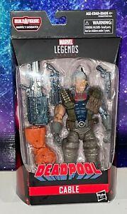 Marvel Legends Deadpool Sasquatch BAF Cable Action Figure New Hasbro