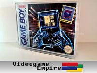 1x Acryl Box Nintendo Game Boy Classic Big Tetris Bundle Konsole OVP Schutzhülle