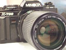 minolta X-700 avec zoom minolta 35-135