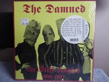 """THE DAMNED The Stiff Singles 1976-1977 5 x 7"""" box, Sealed Official Italy Release"""