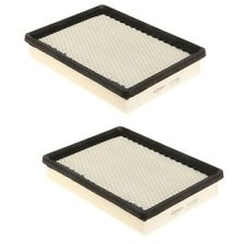 For Cadilac XLR 2004-2009 Pair Set of 2 Air Filters Denso 143-3384