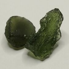 5.8 ct Moldovite Pieces, Czech Republic