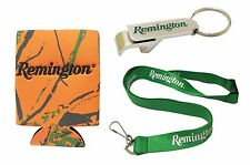 NEW Remington Gift Pack - Stubby Cooler, Bottle Opener, Lanyard - Rifle Gun