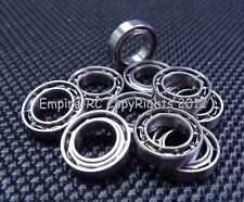 (4 PCS) MR63 (3x6x2 mm) Metal OPEN PRECISION Miniature Ball Bearing 3*6*2