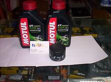 2 LT KIT TAGLIANDO FILTRO OLIO MOTUL 5100 10W50 PEUGEOT 150 LOOXOR 03-04