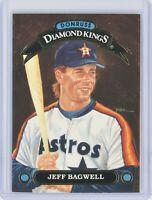 1992 Donruss Diamond Kings #DK-11 JEFF BAGWELL (Astros) HOF