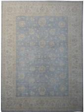 Chobi Peshawar Classic Ziegler Mashad Carpet Wool Handmade Rug 9 x 12