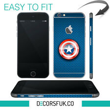 Captain America IPHONE 6 Wrap SKIN-IPHONE PELLE-MARVEL iPhone ADESIVI