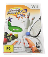 Game Party 3 Nintendo Wii PAL *Complete* Wii U Compatible