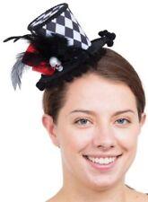 Beaupretty Mini Hut Haarspange Halloween Mesh Blume Hexenhut Party Decor Requisiten f/ür Kinder Erwachsene