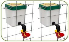 *New - 500ml Drinker with cup for Chickens-Poultry x 2
