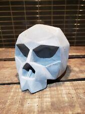 Habitat polished concrete  skull Ornament vintage industrial heavy