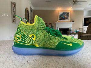 Nike Kd 11 Oregon PE size 14 (Kevin Durant OU Ducks 12 13 9 1 2 3 4 6 10 11 7 8)