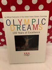 Official USA Committee Olympic Book Dreams 1996 100 Years Kodamotion Cover Rare!
