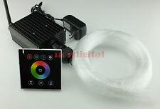 Upgrade RGBW fiber optic light kit DIY star night light wireless touchpad remote