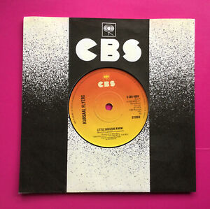"""E310 Little Does She Know, Kursaal Flyers,  7"""" 45rpm Single, Excellent Condition"""
