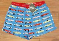 PETER ALEXANDER PJS Mens Boxer Shorts VINTAGE RETRO CARS S/M/L/XL BNWT Cotton PJ